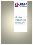 Installation operation & maintenance manual
