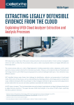 extracting legally defensible evidence from the cloud