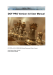 DOF PRO v4.0 User Manual PDF, 02/09/09, Multi