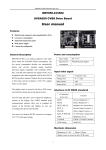 SVGA050 CVBS Drive Board User manual
