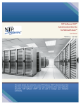 User Manual – NTP Software VFM v4.5 Administration Web Site for