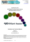 AID EliSpot Software Handbook and Technical Manual