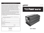 Your 350 Watt Power Inverter converts 12
