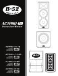 ACTPRO-HD INSTRUCTION MANUAL - B