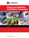 2011 Diode Laser Modules and Pattern Generators