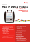 The all-in-one field sync tester