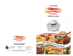 Flavorwave Oven® Turbo Owner`s Manual