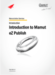Introduction to Mamut eZ Publish