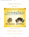 Intrepid 3.7 User Manual - Intrepid Astrology Software