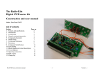 Construction manual V1.1 - Radio-Kits
