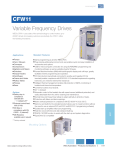 CFW11 Variable Frequency Drives