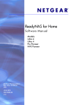 ReadyNAS for Home Software Manual