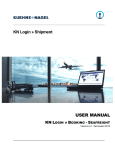 User Manual Booking Seafreight