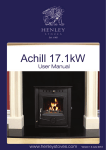 Manual - Henley Stoves