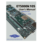 User`s Manual - Emulation Technology Inc.