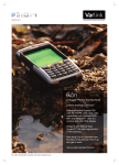 Datasheet for Psion Ikon