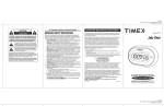 timex alarm clock radio manual t235