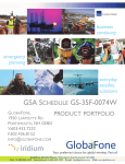 GSA SCHEDULE GS-35F-0074W