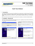 Fyrite™ User Software Installation/User Manual