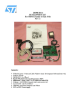 dk900-hc11 development kit for psd9xx family of flash psds