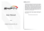 Shift-I User Manual V1.4