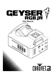 Geyser RGB Jr. User Manual Rev. 4