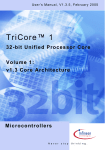 TriCore 1 v1.3: Volume1: Core Architecture