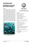 NCV890204 Evaluation Board User`s Manual