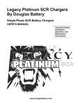 Legacy Platinum SCR Single Phase Charger