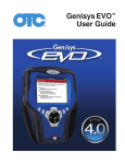 Genysis 2010 User Manual - Genisys Electronic Diagnostic Scan