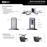 NetCenter Network Hard Drive Quick Install Guide
