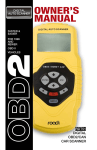 RDT51 User Manual - Roadi Diagnostic Tools