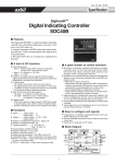Digital Indicating Controller SDC40B