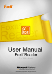 Foxit Reader 6.1_Manual