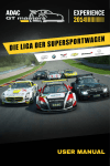 USER MANUAL - ADAC GT Masters Experience
