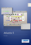 Atlantis 5 User manual