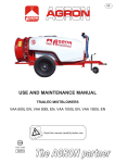 USE AND MAINTENANCE MANUAL