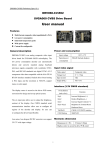 SVGA060 CVBS Drive Board User manual
