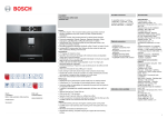 Bosch CTL636ES1 Built-in fully