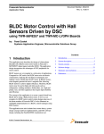 BLDC Motor Control with Hall Sensors Driven by DSC