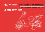 Kymco Agility bruger manual