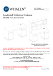 Leadenhall Collection Credenza Model