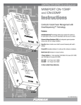 CN-20MP Manual - Furman`s Contractor Series