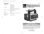 Weather Alert Radio-TV