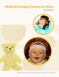 HEARLab: bringing hearing to infants