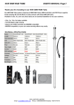 KHX 3D DMX tube user`s manual