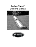 RAVE Water Sports Equipment User Manual