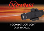 1x COMBAT DOT SIGHT