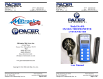 Miltronics 10140-DA430 User Manual Rev 2.8