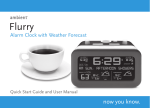 Alarm Clock with Weather Forecast
